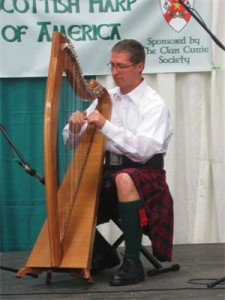 Steve Schack - 2010 US National Scottish Harp Champion