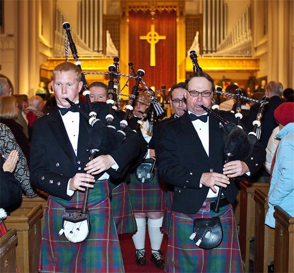 The Pipes of Christmas bagpipes