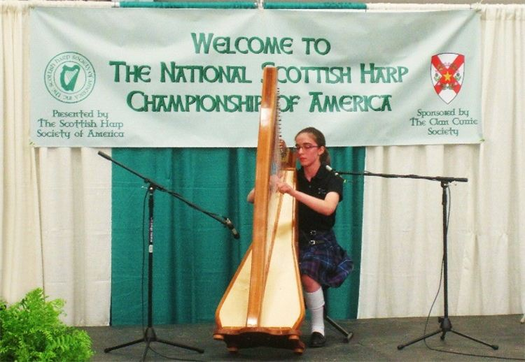Aug. 24, 2015 – Proceeds from Pipes of Christmas to Support the U.S. National Scottish Harp Championship of America